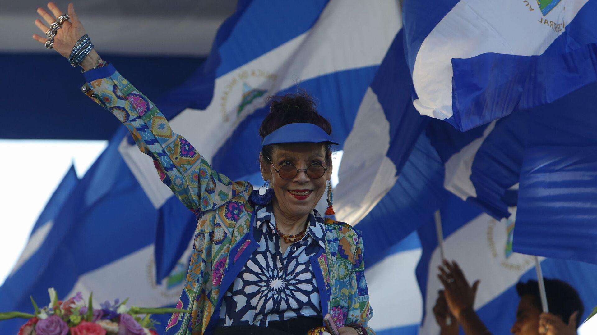 Rosario Murillo, vicepresidenta de Nicaragua (Archivo) - Sputnik Mundo, 1920, 02.08.2021