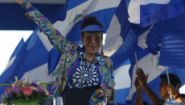 Rosario Murillo, vicepresidenta de Nicaragua (Archivo) - Sputnik Mundo