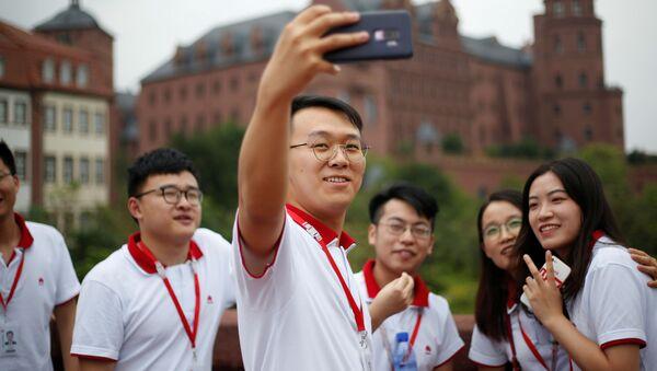Cómo es trabajar en la nueva sede de Huawei en China   - Sputnik Mundo
