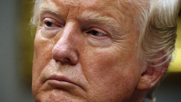 El presidente estadounidense, Donald Trump - Sputnik Mundo