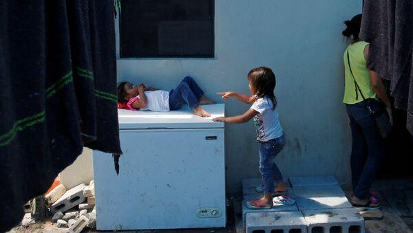 Niños migrantes en el norte de México (archivo) - Sputnik Mundo