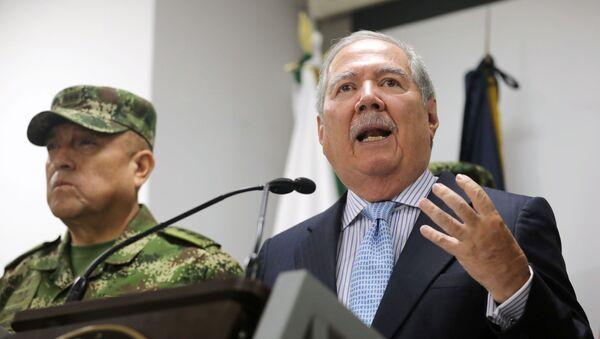 Guillermo Botero, ministro de Defensa de Colombia - Sputnik Mundo