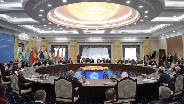 La reunión de los países miembros de la OCS - Sputnik Mundo