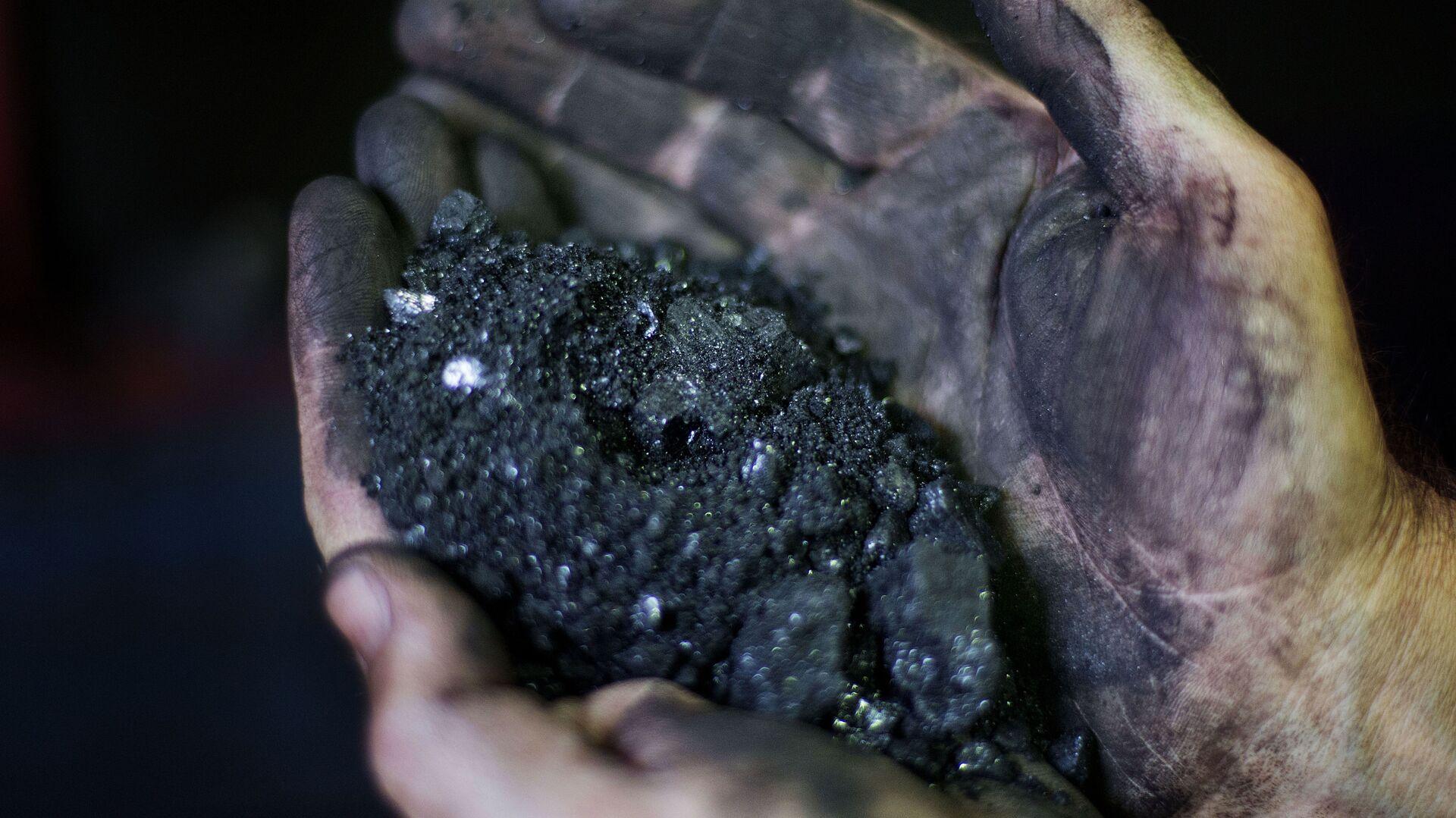 Carbón (imagen referencial) - Sputnik Mundo, 1920, 09.02.2021