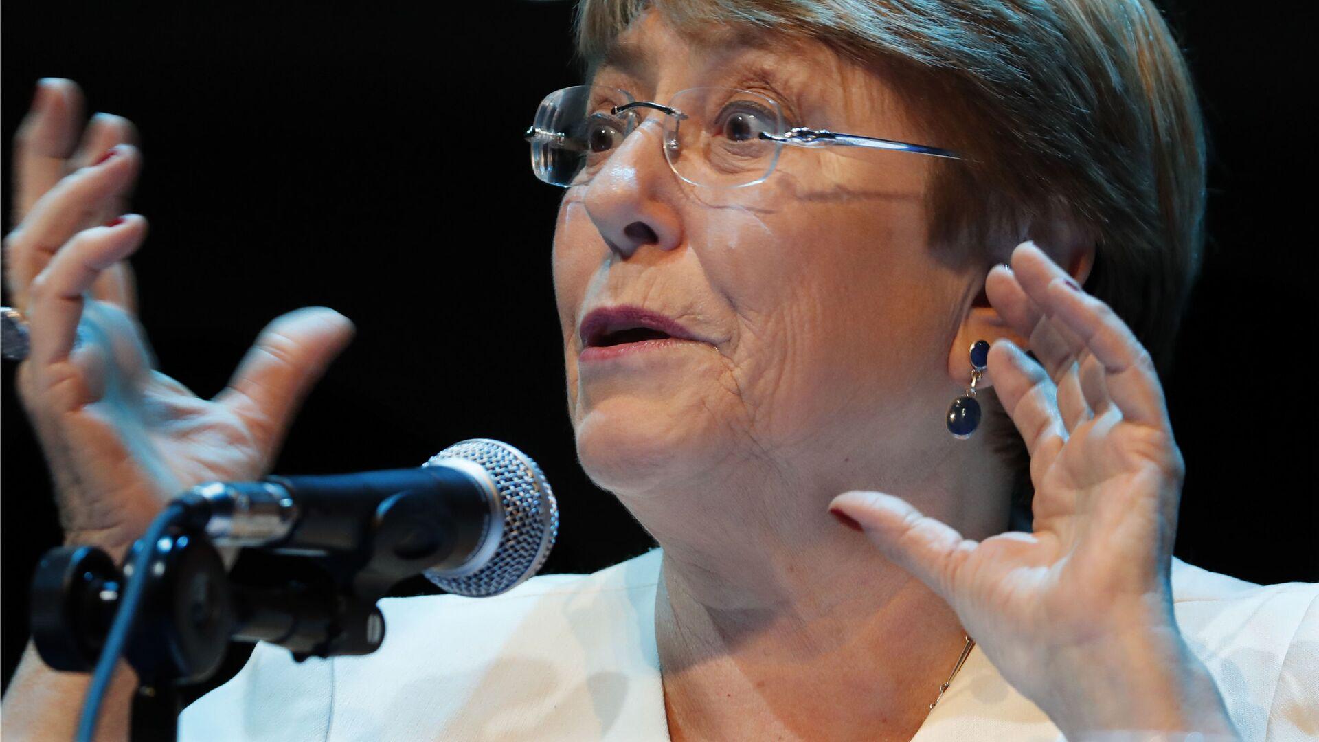 La Alta Comisionada de las Naciones Unidas para los Derechos Humanos, Michelle Bachelet - Sputnik Mundo, 1920, 15.09.2021