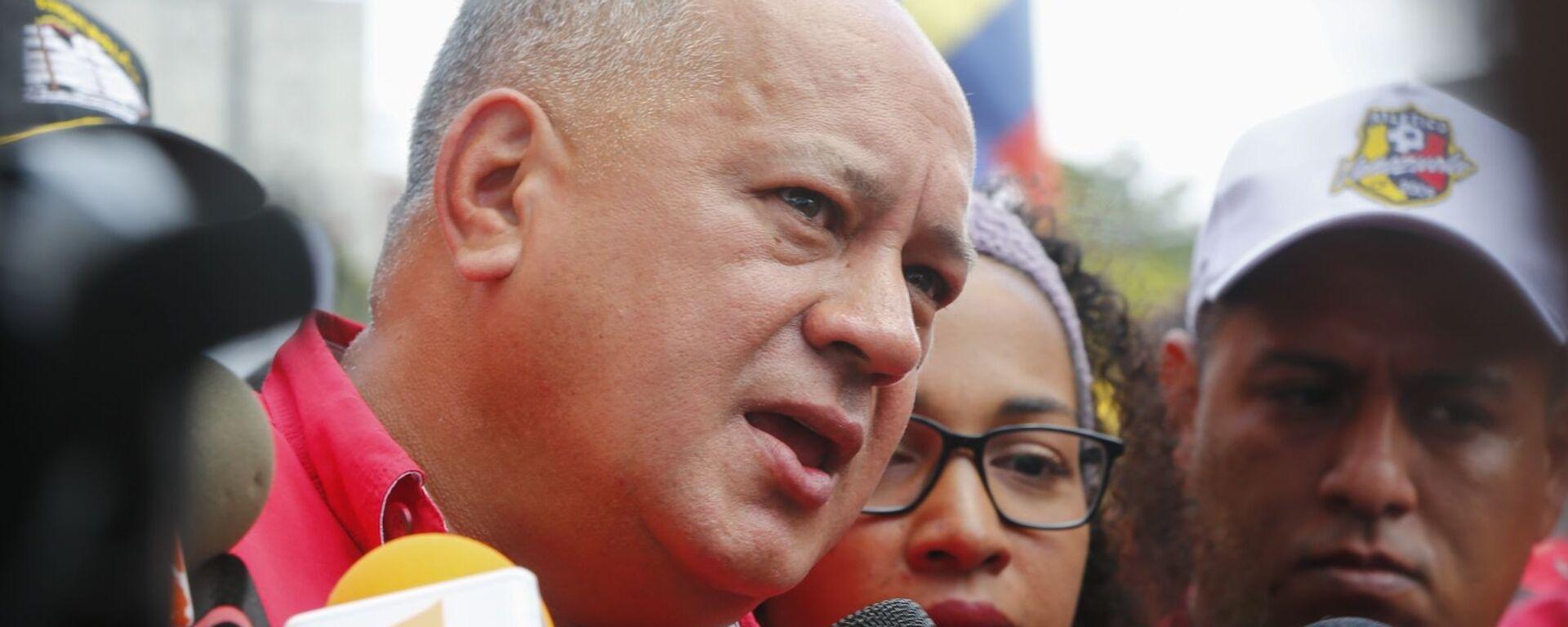 Diosdado Cabello, presidente de la Asamblea Nacional Constituyente de Venezuela, una de las víctimas de las olas de 'fake news' lanzadas contra el Gobierno de Nicolás Maduro - Sputnik Mundo, 1920, 22.06.2021