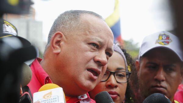 Diosdado Cabello, presidente de la Asamblea Nacional Constituyente de Venezuela (archivo) - Sputnik Mundo