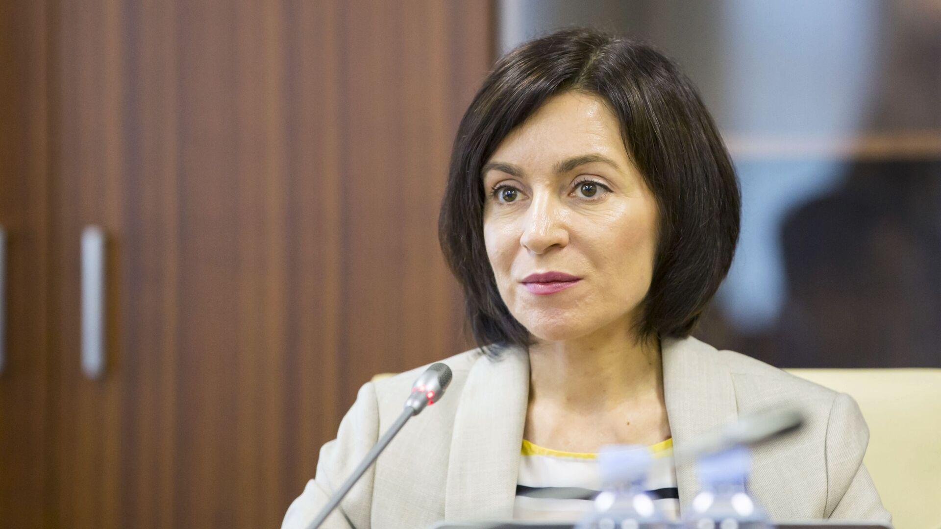 Maia Sandu, primera ministra de Moldavia - Sputnik Mundo, 1920, 18.04.2021