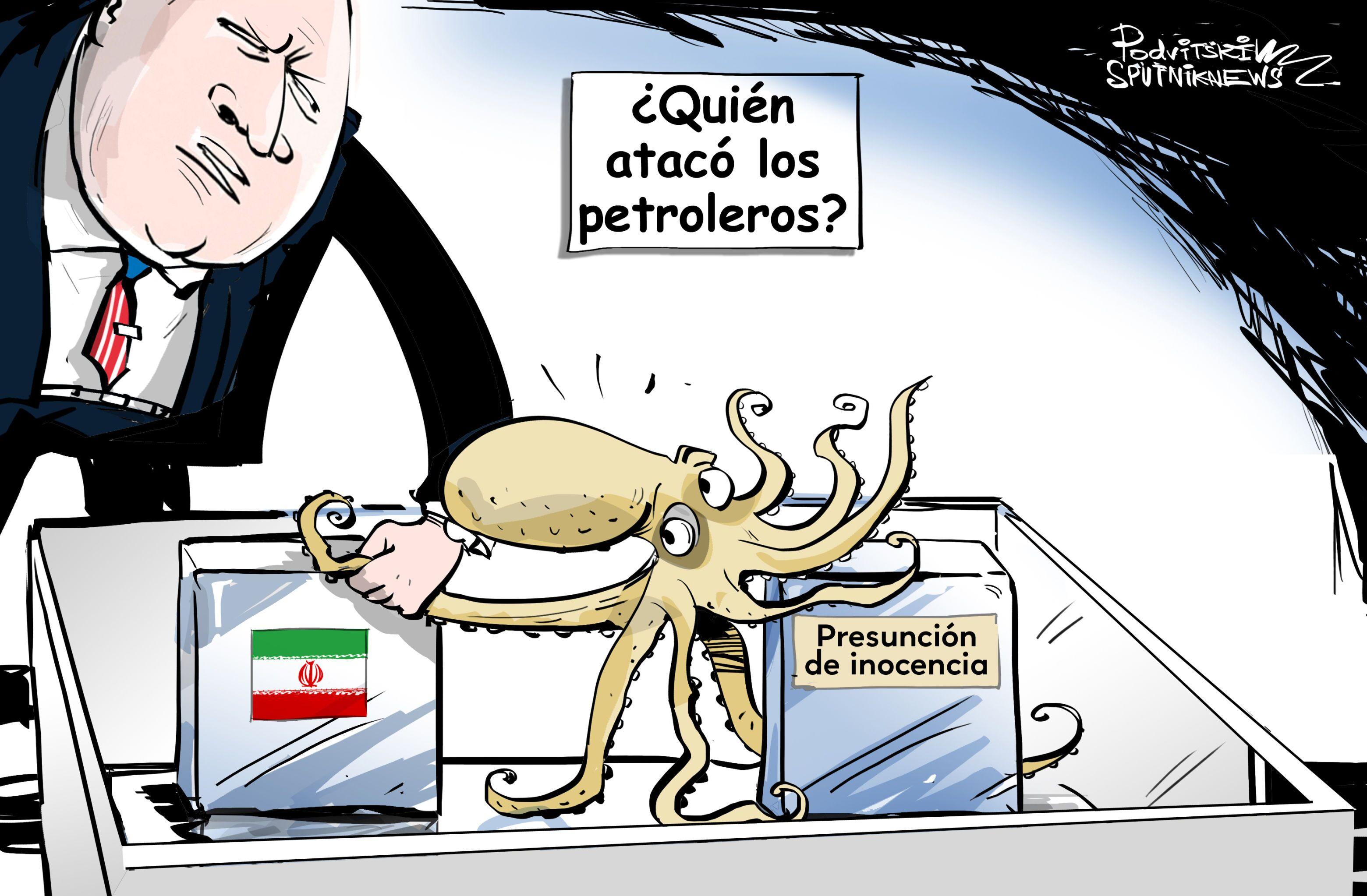 La receta típica de EEUU: ante cualquier situación, culpa a Irán