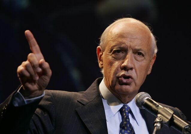 Roberto Lavagna, precandidato presidencial y exministro de Economía argentino,