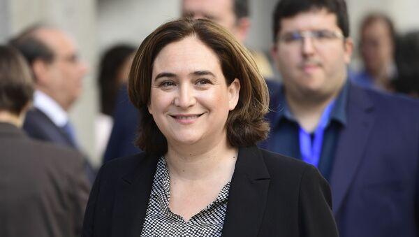 Ada Cola, alcaldesa de Barcelona, España - Sputnik Mundo