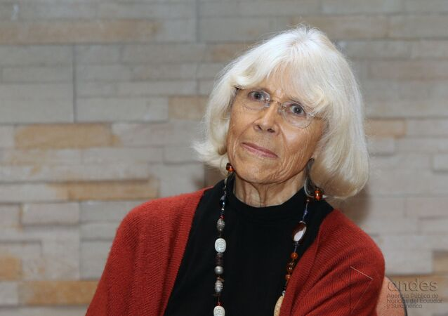 Marta Harnecker, activista, escritora y periodista chilena