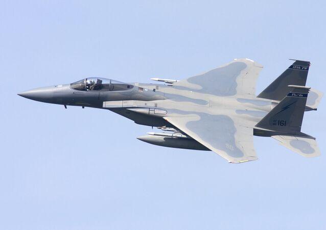 Caza estadounidense F-15C