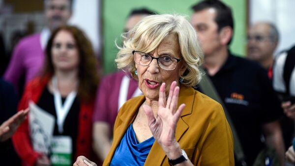 Manuela Carmena, exalcaldesa de Madrid - Sputnik Mundo