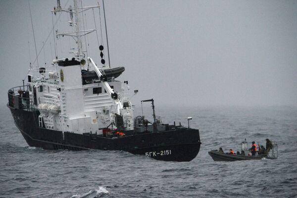 РоссийскRusia y Japón se juntan en alta mar para las maniobras de rescate Sarex 2019   - Sputnik Mundo