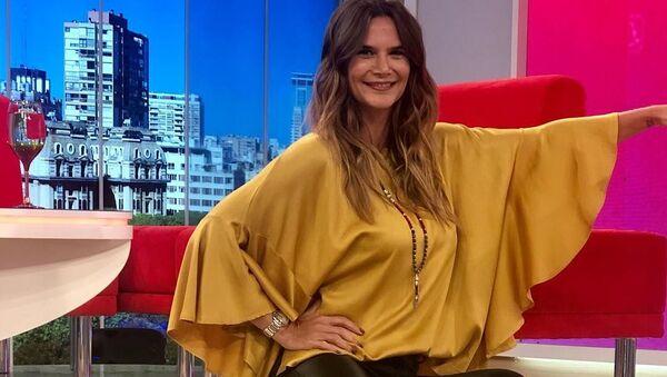 Amalia Granata, modelo y periodista argentina - Sputnik Mundo