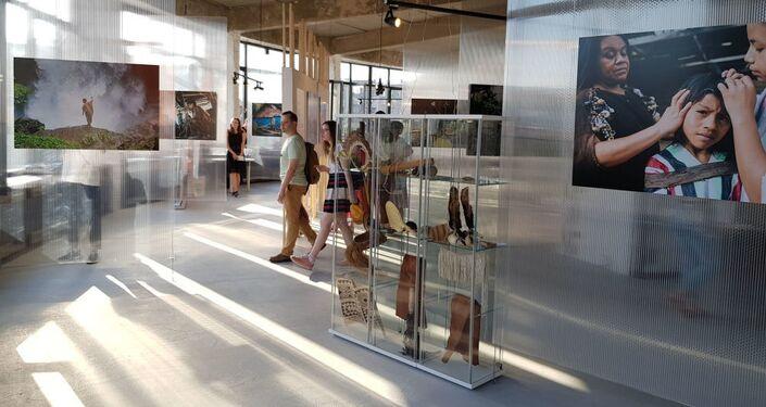 Exposición Amazonas en Moscú