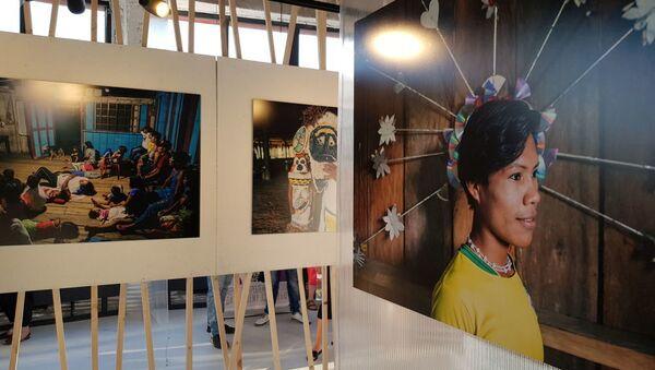 Exposición Amazonas en Moscú - Sputnik Mundo
