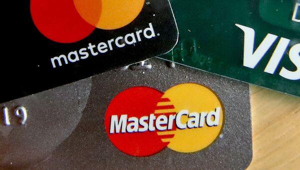 Unas tarjetas de MasterCard - Sputnik Mundo