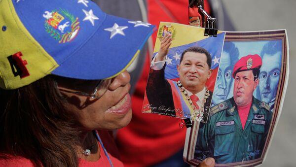 Simpatizantes del chavismo en Venezuela - Sputnik Mundo