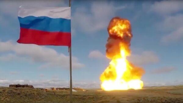 El lanzamiento de un misil antiaéreo - Sputnik Mundo