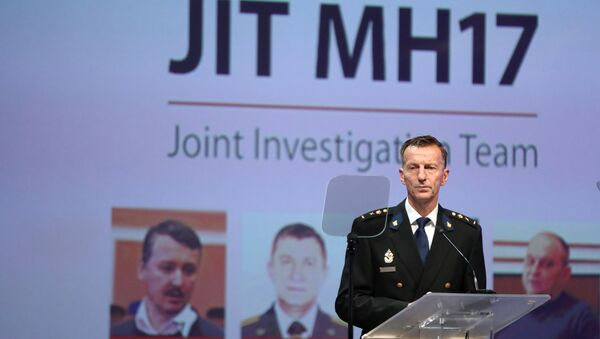 La presentación de los resultados de investigación de derribo del vuelo MH17 - Sputnik Mundo