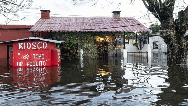 Inundaciones en Uruguay - Sputnik Mundo