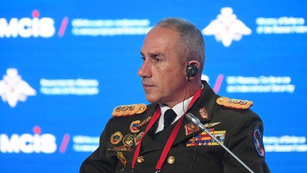 El secretario general del Consejo de Defensa de la Nación de Venezuela, Pascualino Angiolillo Fernández - Sputnik Mundo