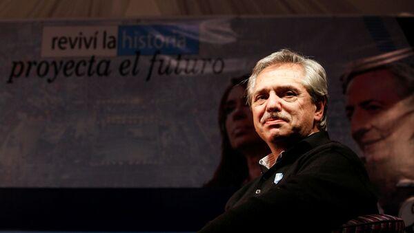 Alberto Fernández, candidato a la presidencia de Argentina - Sputnik Mundo