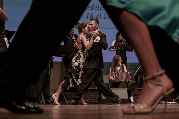 Los giros de la pasión: festival de tango en Colombia - Sputnik Mundo