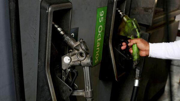 Un surtidor de gasolina en Venezuela - Sputnik Mundo