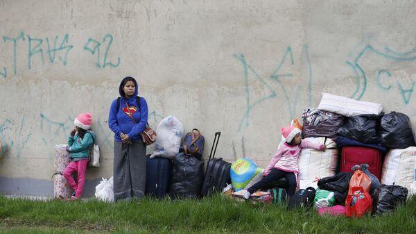 Migrantes en Colombia (archivo) - Sputnik Mundo