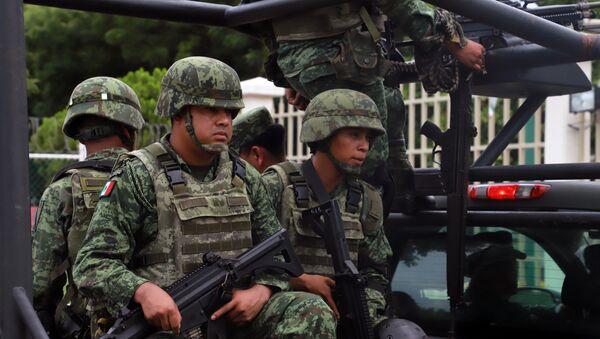Militares mexicanos - Sputnik Mundo