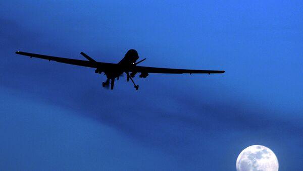 Un dron (imagen referencial) - Sputnik Mundo