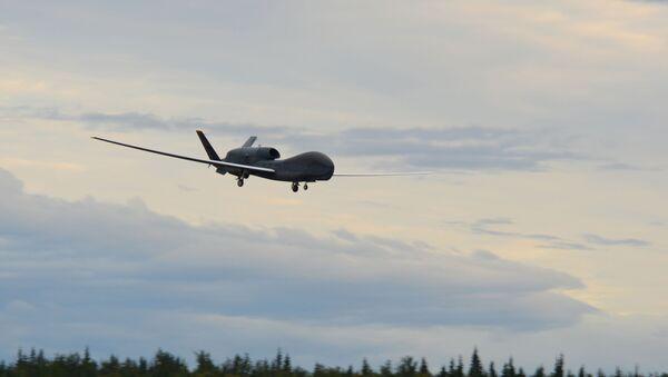 Aeronave no tripulada estadounidense RQ-4 Global Hawk  - Sputnik Mundo