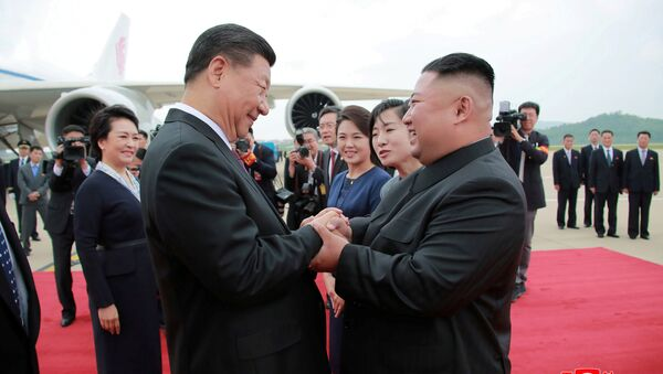 Un líder chino visita Corea del Norte por primera vez en 14 años   - Sputnik Mundo