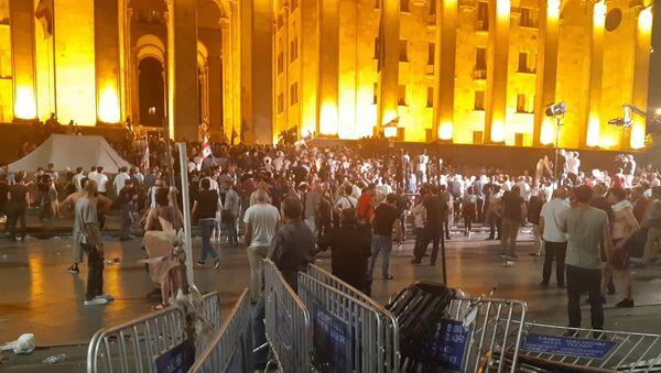 Protestas en Tiflis, Georgia - Sputnik Mundo