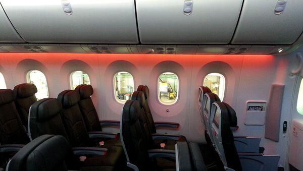 El interior de un Boeing 787 - Sputnik Mundo