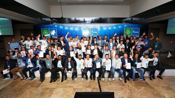 La Academia Internacional para entrenadores de equipos de fútbol infantiles 'Fútbol por la Amistad' - Sputnik Mundo