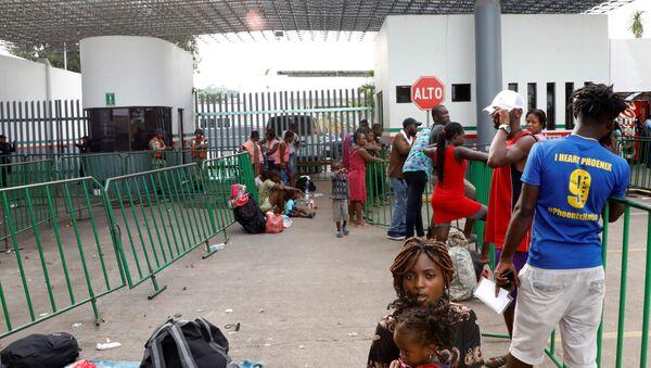 Migrantes en Tapachula, Chiapas - Sputnik Mundo