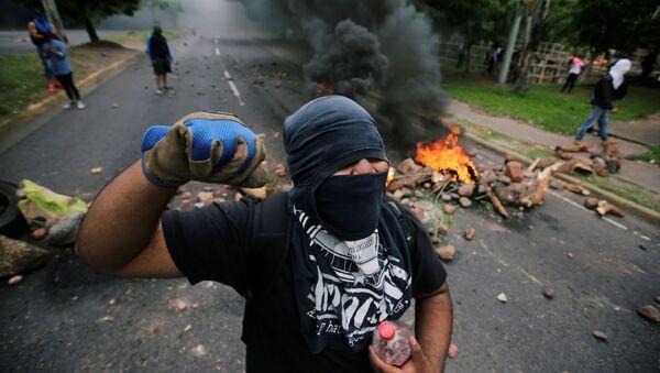 Protestas en Tegucigalpa, Honduras - Sputnik Mundo