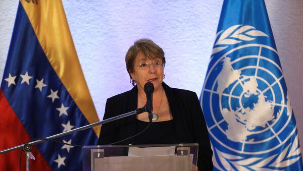Michelle Bachelet, Alta Comisionada de las Naciones Unidas para los Derechos Humanos - Sputnik Mundo