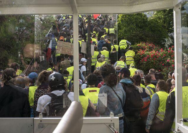 Las protestas de los 'chalecos amarillos' en Francia (archivo)