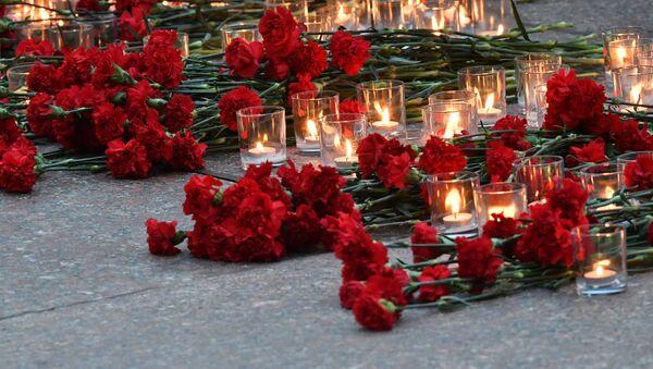 Homenaje a los soldados soviéticos caídos en la Gran Guerra Patria (archivo) - Sputnik Mundo