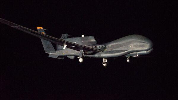Dron de EEUU Global Hawk - Sputnik Mundo
