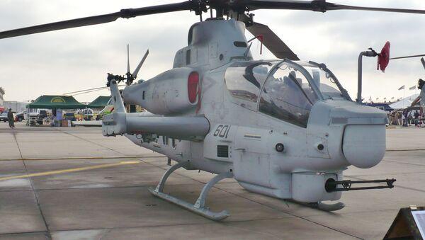 Un AH-1Z Viper estadounidense - Sputnik Mundo