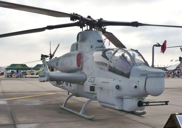 Un AH-1Z Viper estadounidense