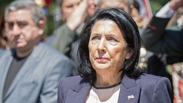 Salomé Zurabishvili, presidenta de Georgia - Sputnik Mundo