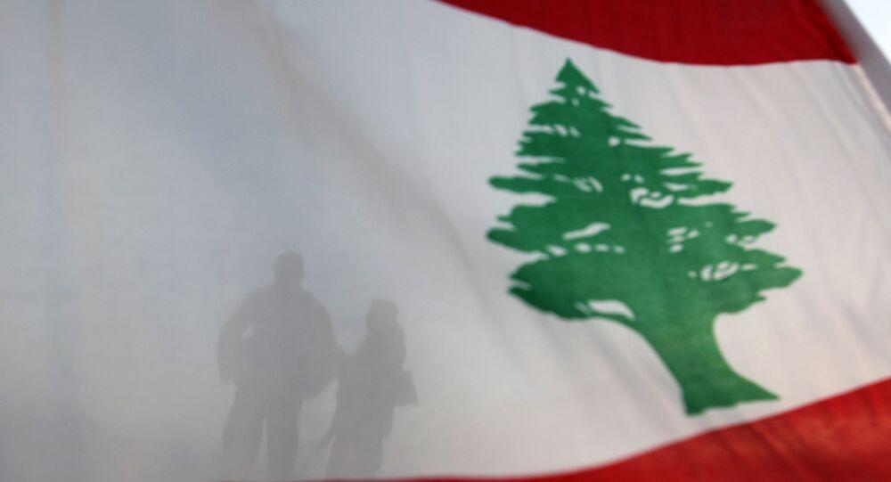 Bandera del Líbano