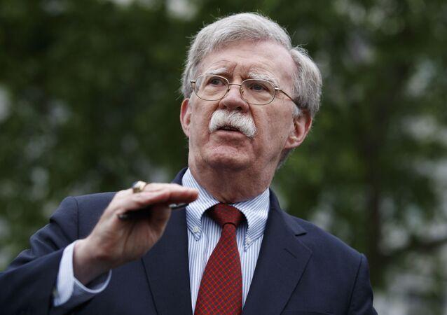 John Bolton, asesor de Seguridad Nacional de la Casa Blanca